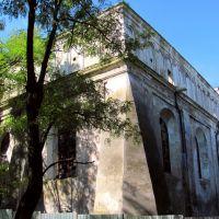 Массивность строения синогоги поражает,жаль что такое строение погибает,а возведено в 1687г.., Нестеров