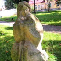 Скульптура в парке., Нестеров