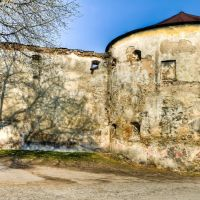 Башня оборонной ограды доминиканского монастыря, XVII в., Нестеров