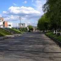 Peremyshliany-centeral street Halyzska, Перемышляны