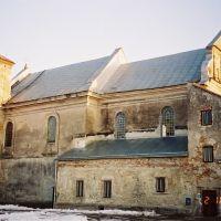 Kościół Św. Ap. Piotra i Pawła - Przemyślany - stan z 2001 roku..., Перемышляны