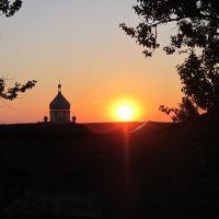 Захід сонця у Пустомитах, Пустомыты
