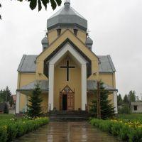 """Церква """"Зіслання Святого Духа"""", Пустомыты"""