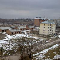 Вигляд з даху будинку, Радехов