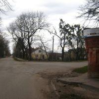 поворот з вул.Витківської на Стоянівську, Радехов