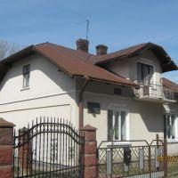 В цьому будинку 8 січня 1948 року геройськи загинули члени ОУН УПА, Самбор