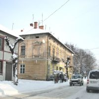 Старинный особняк с конторой нотариуса. Вид на северо-восток., Самбор