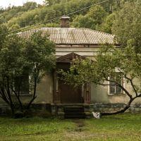 Дворец и парк баронов Грьодлей, сер. XIX в., Сколе