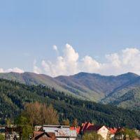 Горы в районе Сколе, Сколе