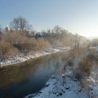 Дністер взимку, Старый Самбор