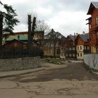 Old part of the town. Старая Часть города., Трускавец