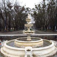 фонтан у центрі парку, в центрі міста .., Червоноград