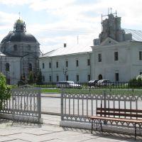 Вид на василіанський монастир, Червоноград
