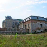 Левый боковой фасад дворца Потоцкого 1736г, Червоноград