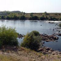 Yuzhny Buhg river behind the Alexandrovskaya GES. 2008, summer., Александровка