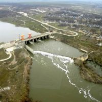 Oleksandrivska hydroelectric power station, Александровка