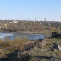 Вознесенська ГЕС і Олександівка (Voznesenska GES and Oleksandrivka), Александровка