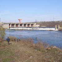 Олександрівська ГЕС i pибаки (Oleksandrivska GES & fishermans), Александровка