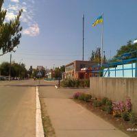 Вид на улицу Полтавська., Баштанка
