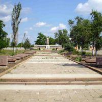 Пам`ятник невідомому солдату, Березнеговатое
