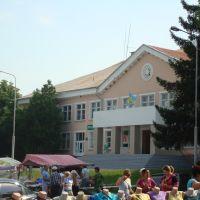 Центральная площадь, дом культуры, Великая Корениха