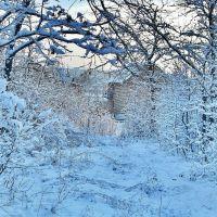 Доманевка. В снегу., Доманевка