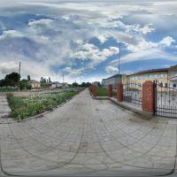 Школа №1.  Доманевка. Сферическая панорама., Доманевка