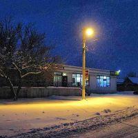 The street lights, shop ..., Доманевка