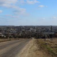 Panorama. Панорама городка Еланец., Еланец