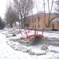 Мост на улице К. Маркса, Еланец