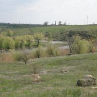 View to river G. Elanets, Еланец