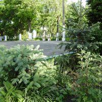 Церковный дворик. Church park, Николаев