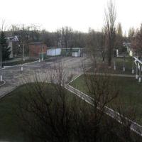 Внутренний дворик больницы, Новый Буг