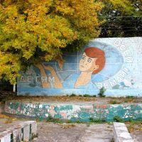 Mosaic. Мозаика на летней сцене для детей., Новый Буг