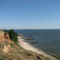 дикий пляж, Очаков