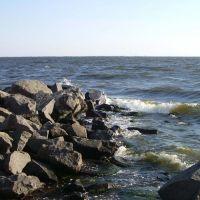 камені на березі, Очаков
