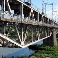 Железнодорожный мост через Южный Буг, Первомайск