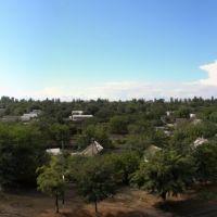 Панорама снята с 33 дома на Семи Ветрах, Снигиревка