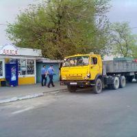 возле магазина Алиса, Снигиревка