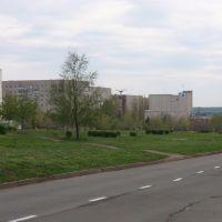вид на поле возле храма Христа-спасителя, Южноукраинск