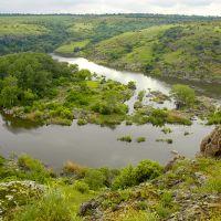 Південний Буг, острів Гард, Южноукраинск