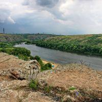 Гроза над Южным Бугом. Южноукраинск., Южноукраинск