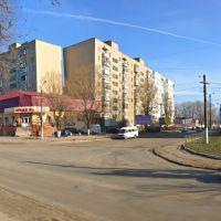 Перекресток ул. Измаильской и ул. Школьной., Аккерман