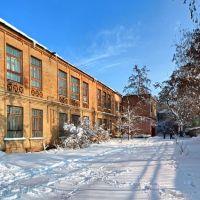 Зимний двор школы №2., Аккерман