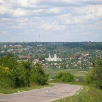 Вид на город, Ананьев