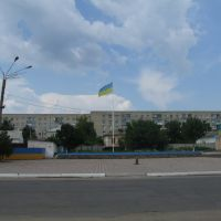 Ukrainian flag, Балта