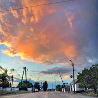 Облако над переездом., Белгород-Днестровский