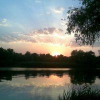 Закат на р. Турунчук, Беляевка
