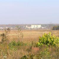 Вид на Березовский элеватор с противополжного берега Тилигула., Березовка