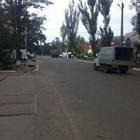 Дорога в центре города, Березовка